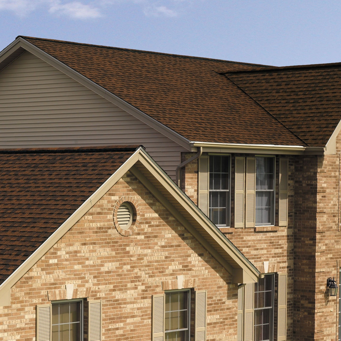 GAF's Timberline Natural Shadow Hickory roof
