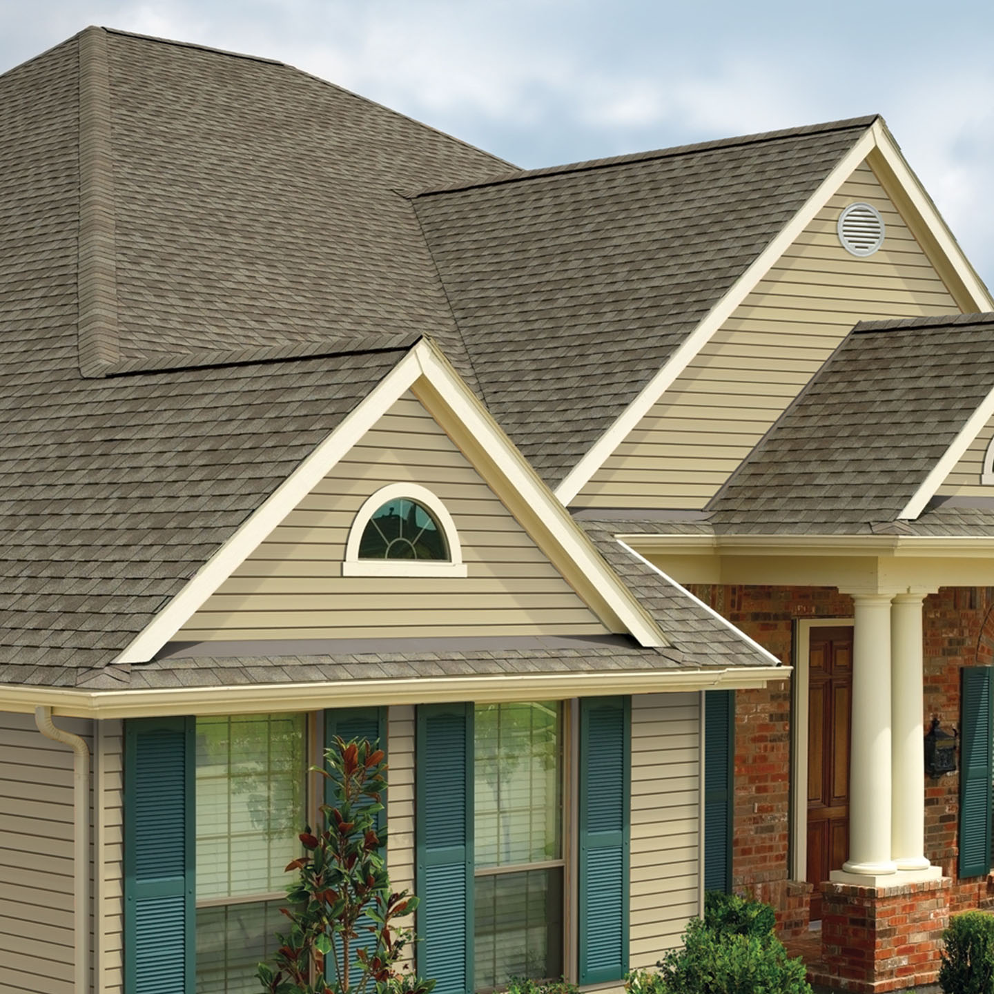 GAF's Timberline Natural Shadow Weathered Wood roof