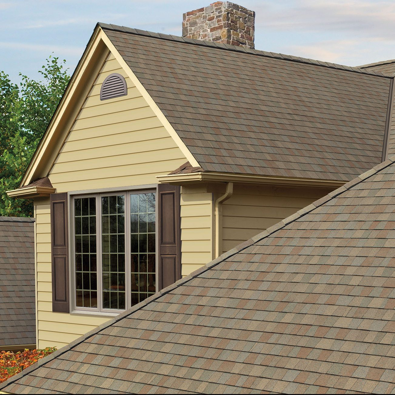 GAF's Timberline American Harvest AMBER WHEAT Roof