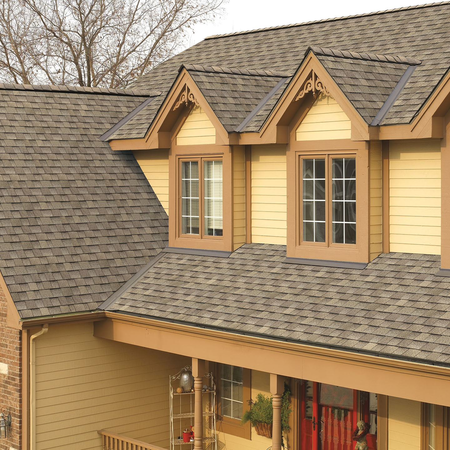 GAF's Timberline HD Driftwood Roof