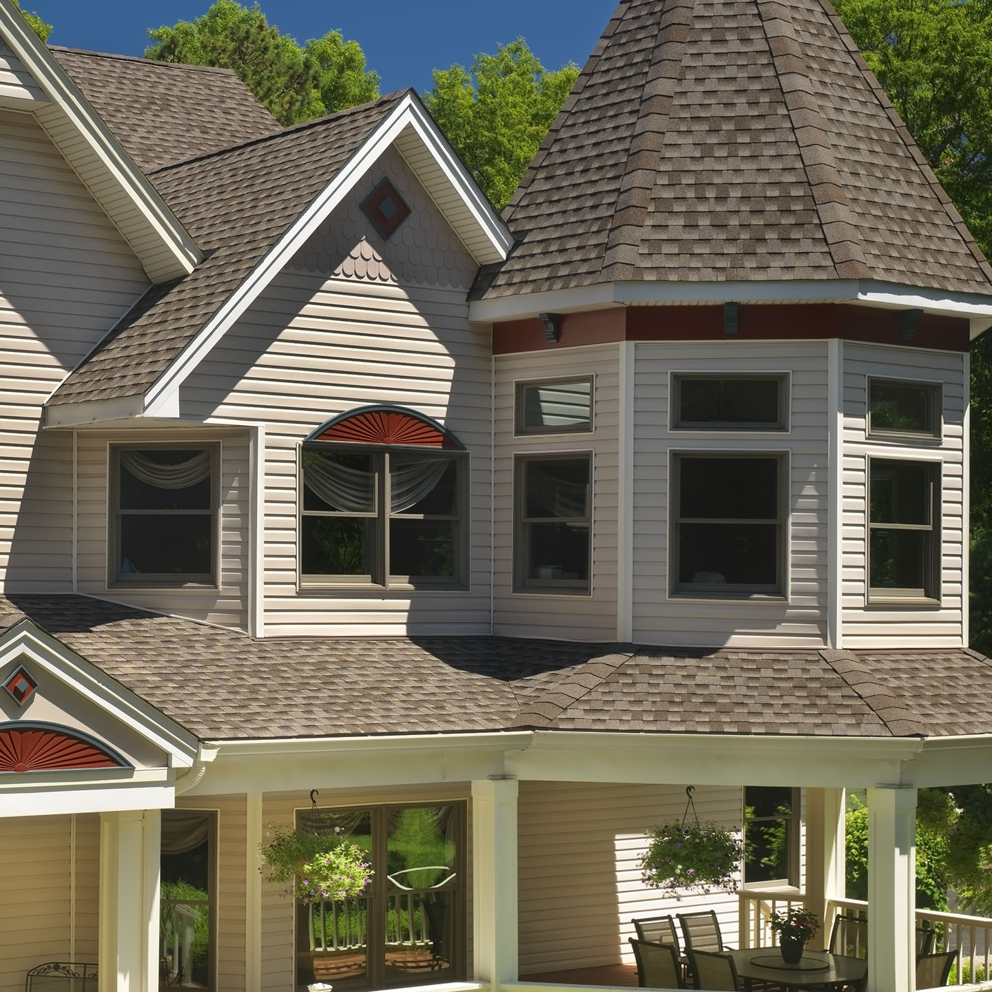 GAF's Timberline HD Mission Brown Roof