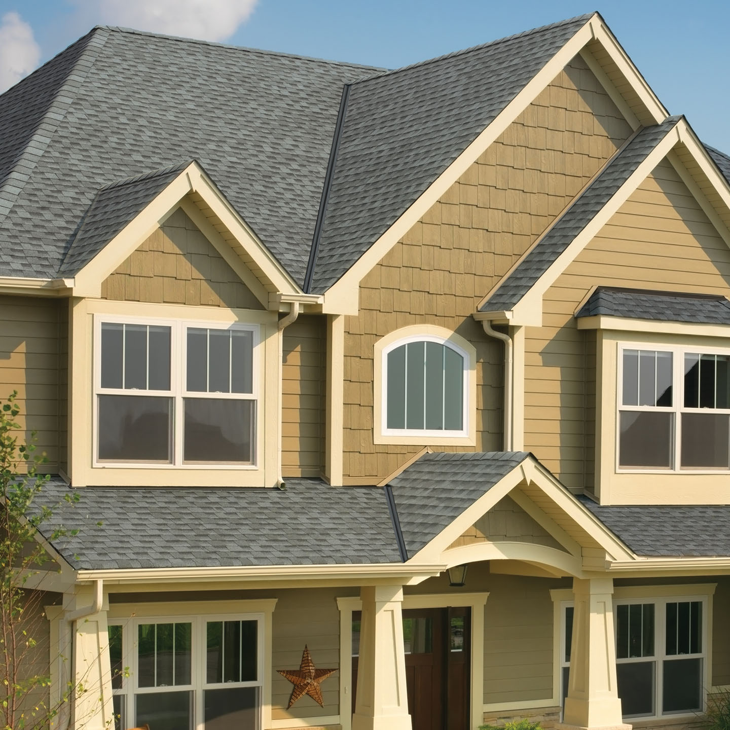 GAF's Timberline HD Pewter Gray Roof